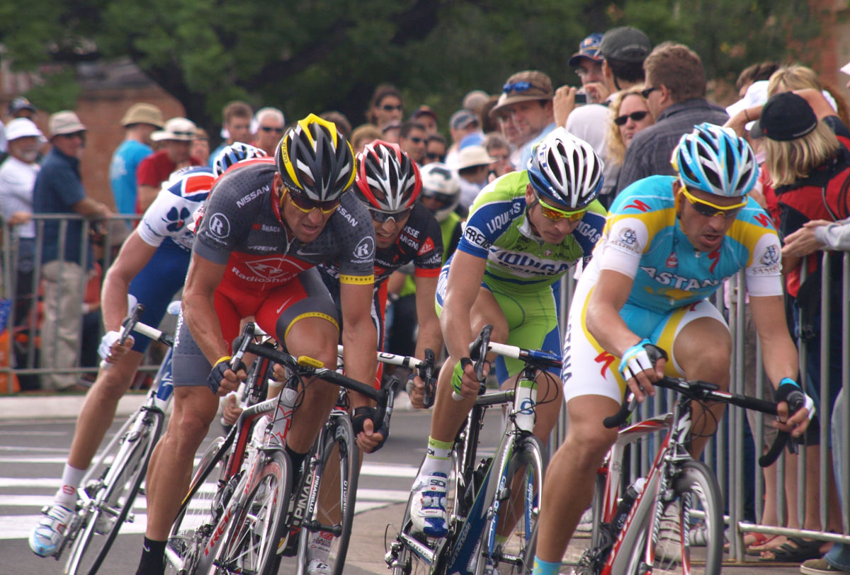 LANCE swansong race in Australia at the Tour down Under