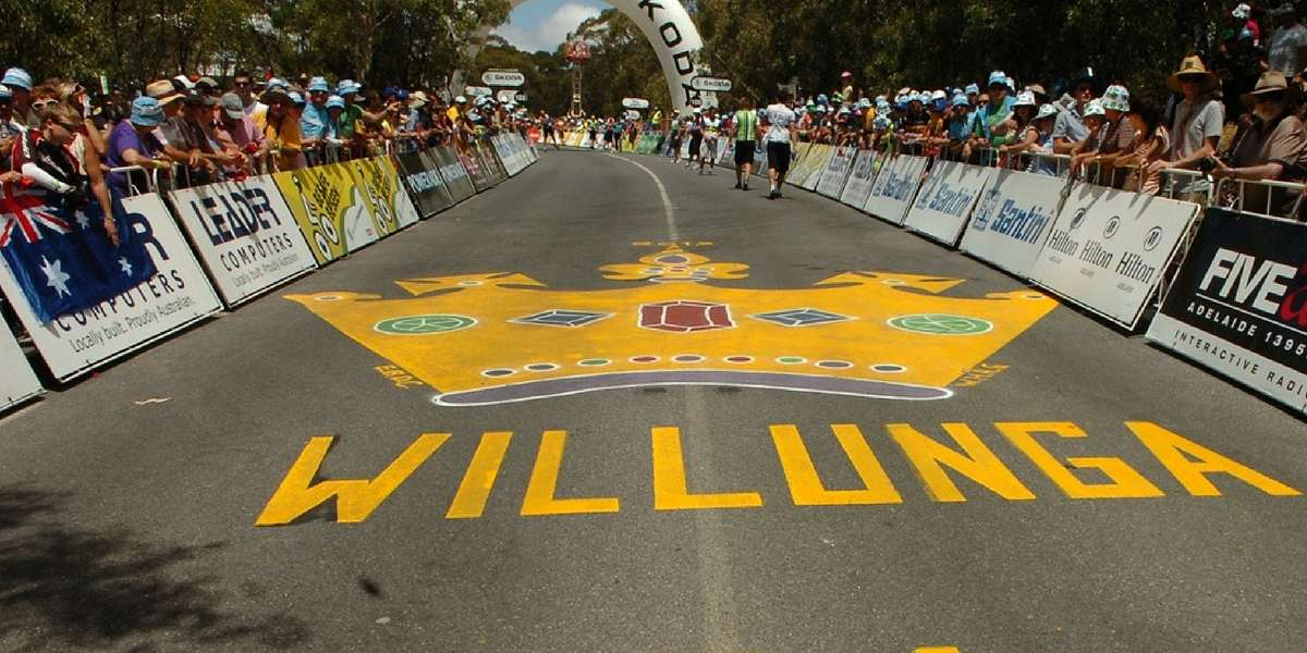 Santos Tour down Under Hot Action in South Australia