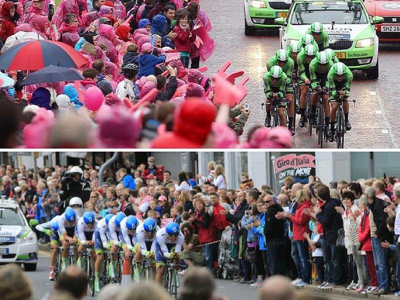 Giro Cycling Tours Practice Bicycle