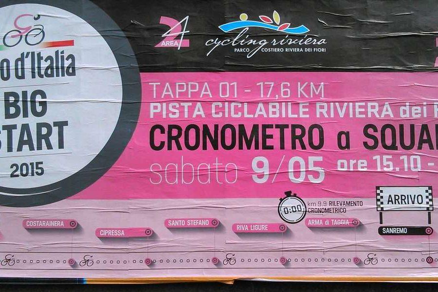 Giro d'Italia 2015 Sanremo Liguria Italy
