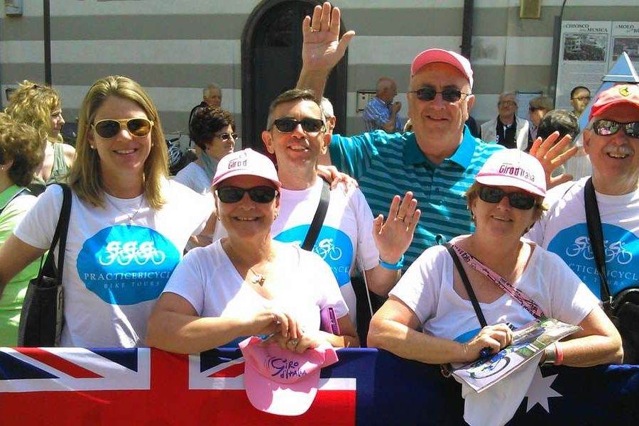 Our PRACTICEBICYCLE Bike Tour in Italy at GIRO 2015 was absolutely fabulous!