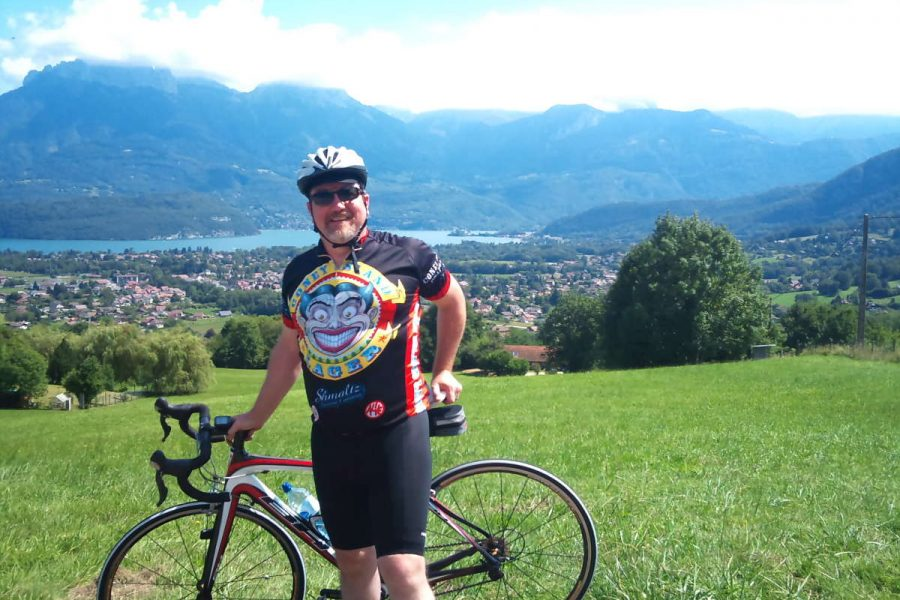 Annecy Day Tours Custom Cycling in Lake Annecy