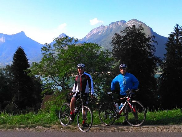 Annecy Cycling Day Tours Comfortable Ride Route French Alps