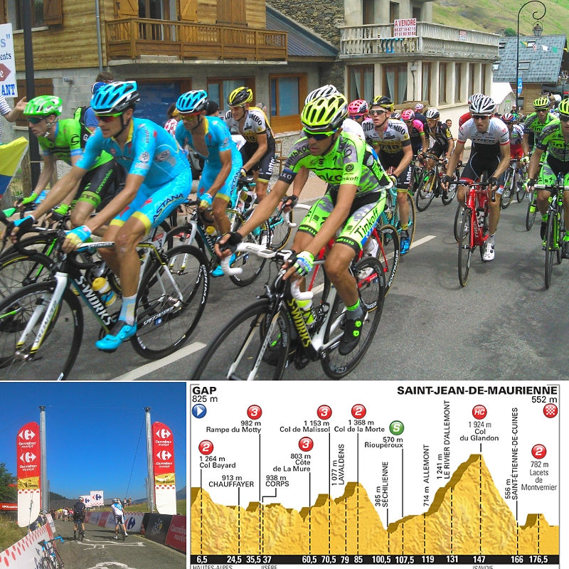 Tour de France Bike Trip French Alps