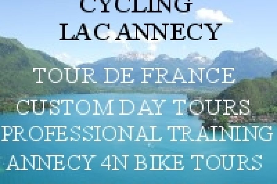Cycling Paradise is LAKE ANNECY – French Alps!