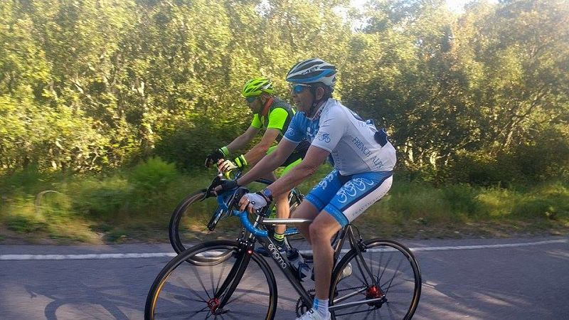 Training for bikes in Portugal