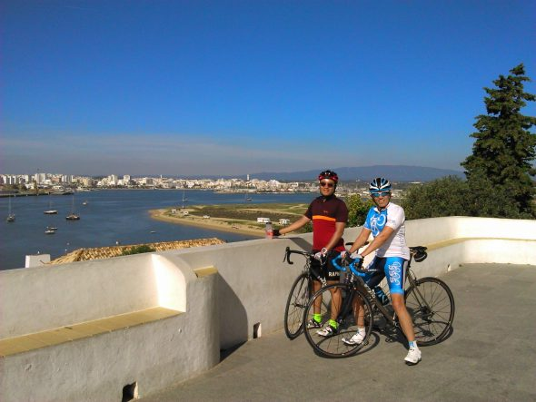 Ferragudo sleepy fishing village discover with Comfortable Algarve Cycling Day Trip