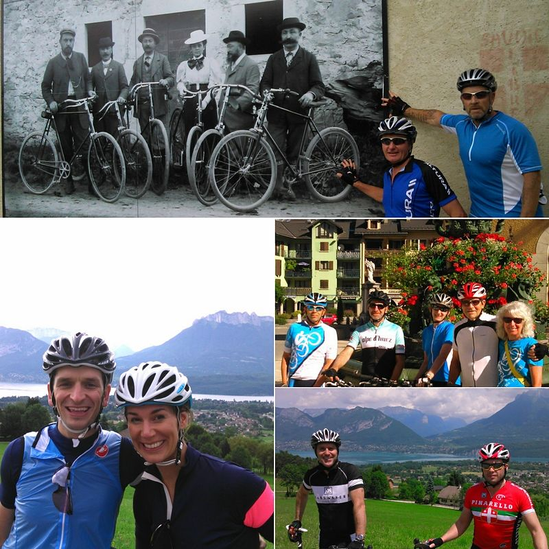 French Alps Practice Bicycle Training