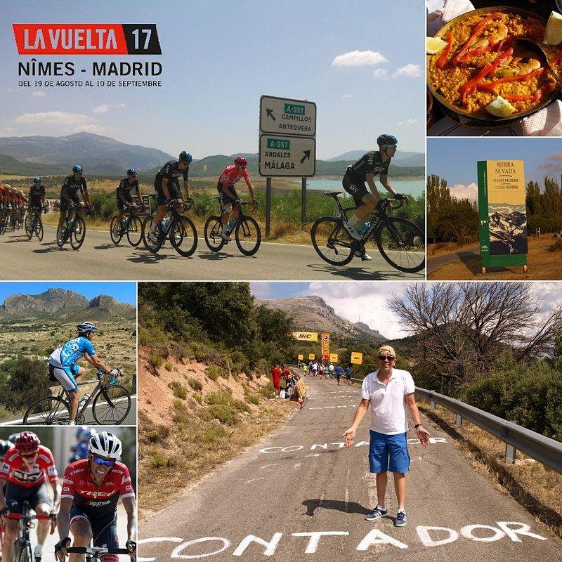 Vuelta Espana Bike Race Tours Practice Bicycle