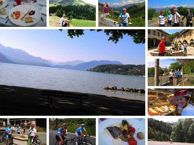 Annecy Cycling Vacations Practice Bicycle Tours