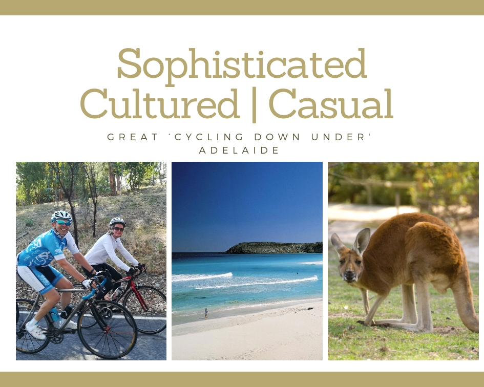 Sophisticated, Cultured, casual Great Cycling Down Under Adelaide South Australia Bike Trips - Practice Bicycle Tours