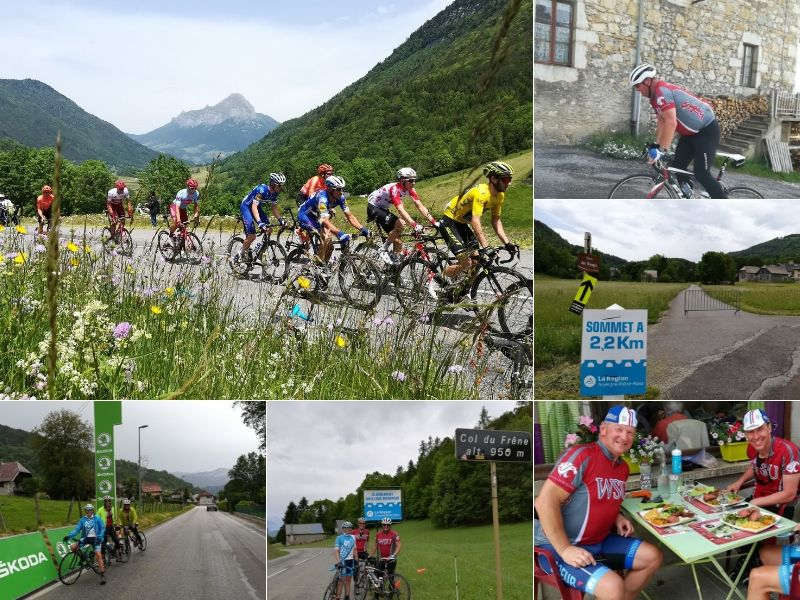Criterium Dauphine Bike Race June French Alps - Practice Bicycle Cycling Holidays