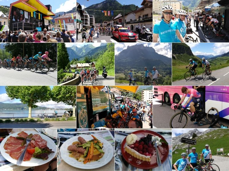 Dauphine Bike Race Tours 2019 Lake Annecy French Alps - Practice Bicycle Cycling Trips