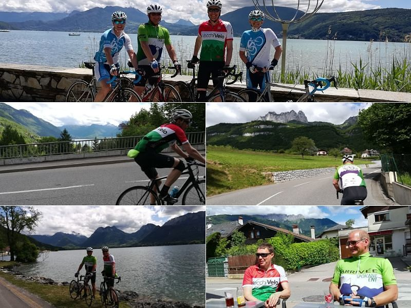 Dauphine Bike Race June Lake Annecy French Alps - Practice Bicycle Tours