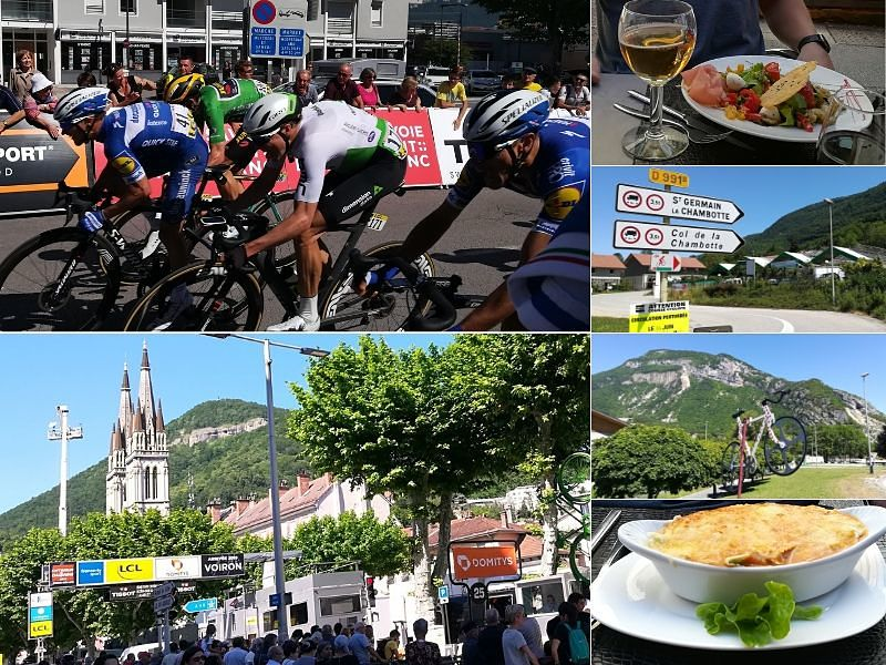 Dauphine Bike Race Voiron Finish - Practice Bicycle Cycling Vacations