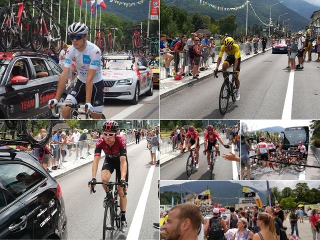 Tour de France Albertville Start