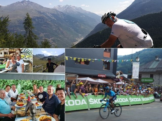 Tour de France Stage Finish Valloire