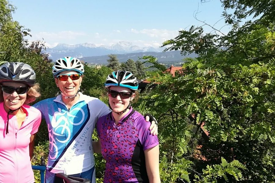 France Cycling Tours Lake Annecy