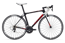 Giant TCR 2 Quality Carbon Road Bike Hire Shimano compact 50, 34 x 11-30