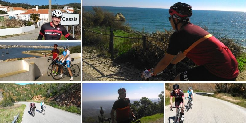 Best cycling in Portugal experiencing the sunny roads of the Algarve