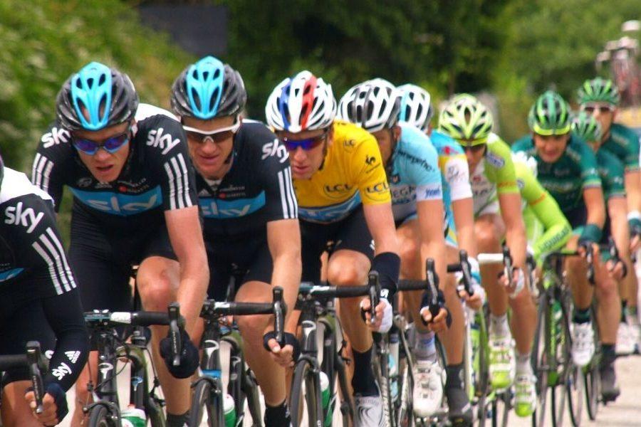 Richie Porte Tour de France Podium